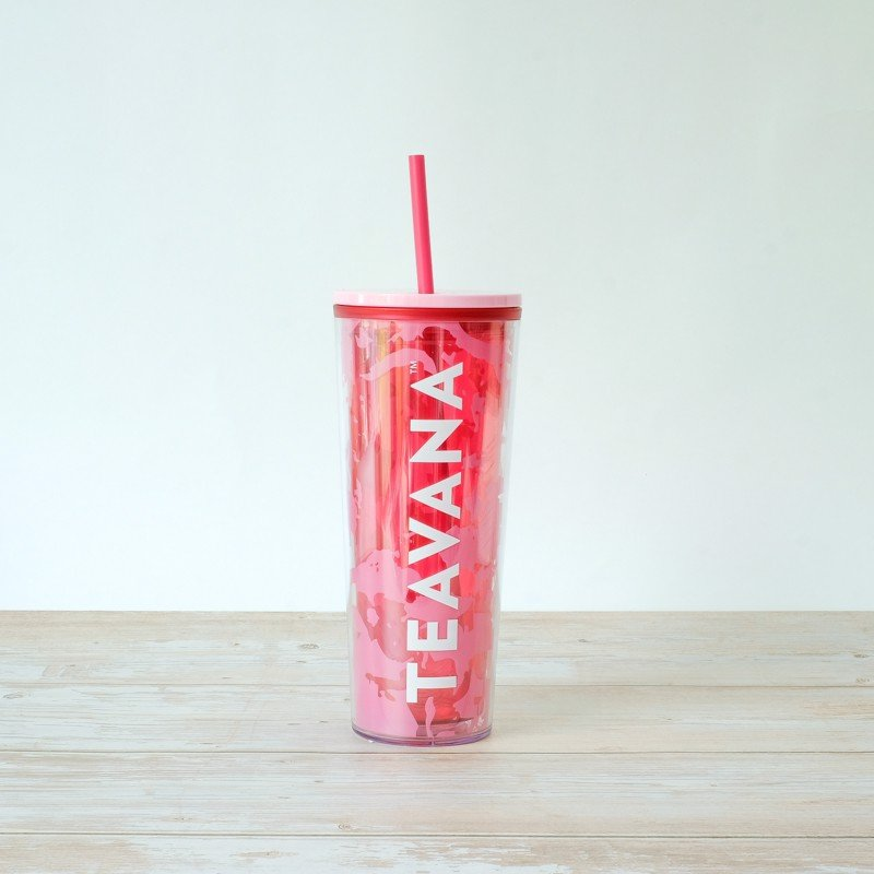 Ly COLDCUP 20 PNK MARBLE TEAVANA
