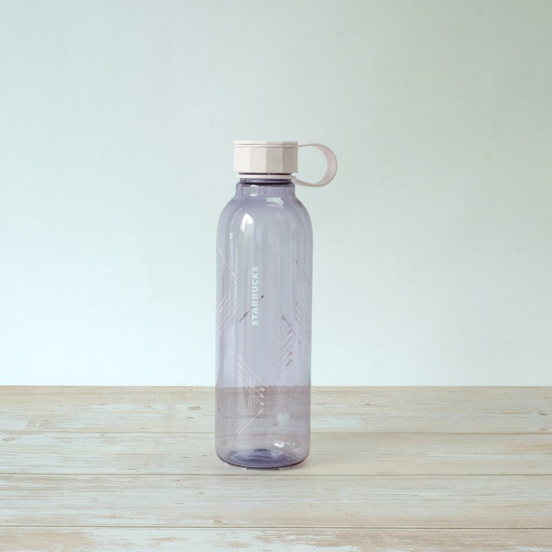 Ly WATERBOTTLE 25 PURPLE W/ARROWS
