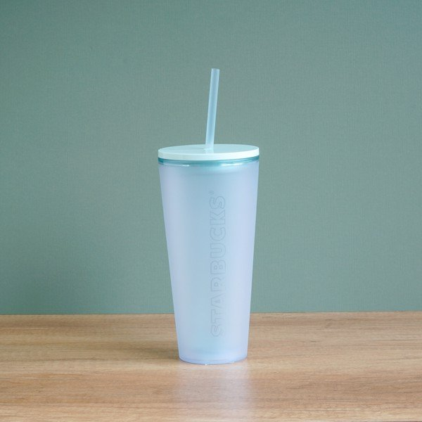 Ly COLD CUP 20OZ TRANSLUCENT MINT
