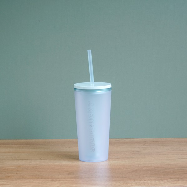 Ly COLD CUP 12OZ TRANSLUCENT MINT