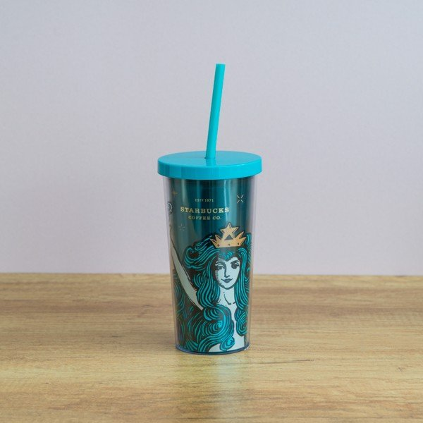 Ly COLD CUP 12OZ SIREN WITH CROWN