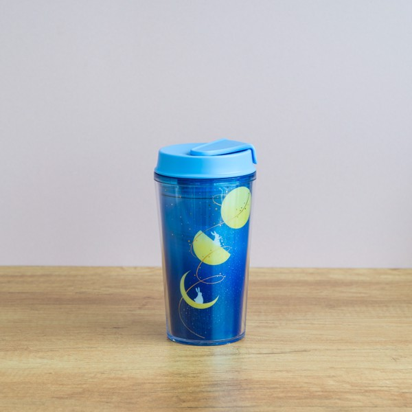 Ly TUMBLER 12OZ BUNNY AND MOON