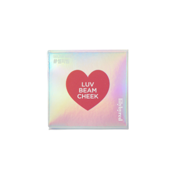 'Phấn má hồng Lilybyred LUV BEAM CHEEK 6 (3.4g) - Selfie Red '' (Hộp) - OL