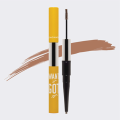 Chỉ kẻ mày 2 đầu lemonade want it got it dual eyebrow #natural brown 2.75g