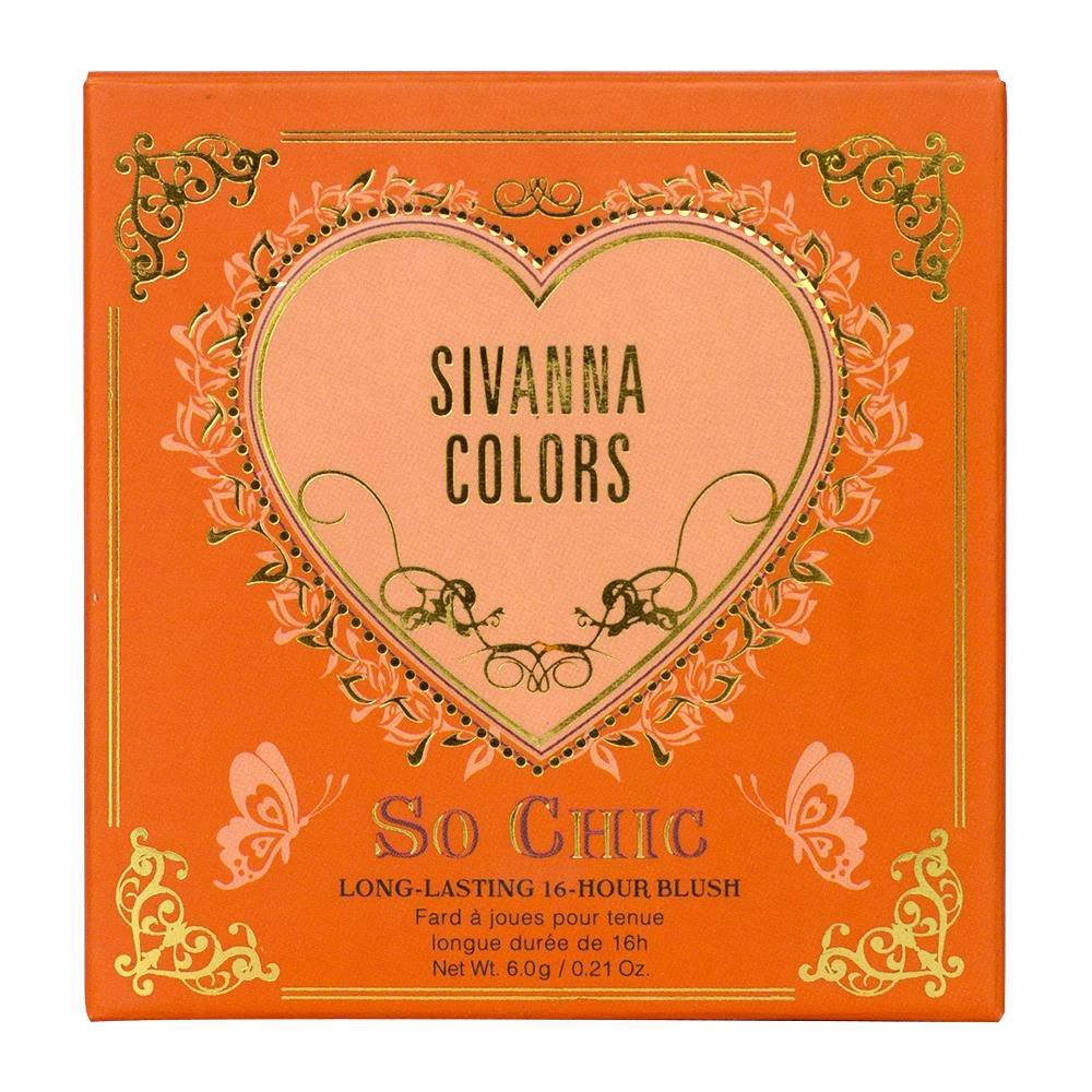 Phấn Má Sivanna Colors So Chic Long-Lasting 16Hours HF6025#2