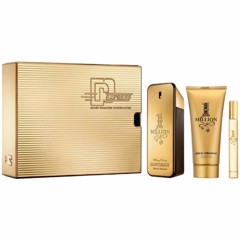 Gift Set Paco Rabanne 1 Million EDT 3pcs (EDT 100ml + EDT 10ml + Deodorant Spray 150ml)