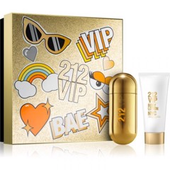Carolina Herrera 212 Vip YJ_Gift Set EDP 80ml + Body Lotion 100ml