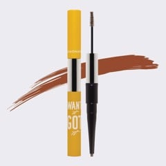 Chỉ kẻ mày 2 đầu lemonade want it got it dual eyebrow #dark Brown 2.75g
