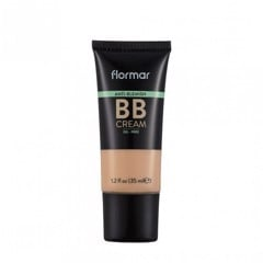 Kem Che Khuyết Điểm Flormar Face Anti Blemish BB Cream Light/Medium AB04 35ml