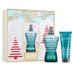 Bộ Nước Hoa Nam Jean Paul Gaultier Le Male YJ_Gift Set EDT (125ml + Shower Gel 75ml) - Pháp