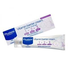 Kem Dưỡng Da Mustela Vitamin Barrier Cream 100ml