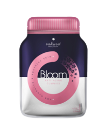 Kẹo Dẻo Sakura Bloom Anti - Aging Collagen Gummies 140g
