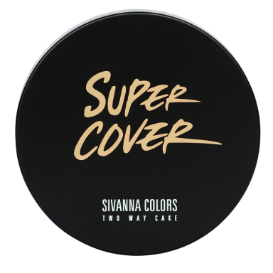 Phấn nền Sivanna Colors Super Cover Two Way Cake HF201 Màu 3