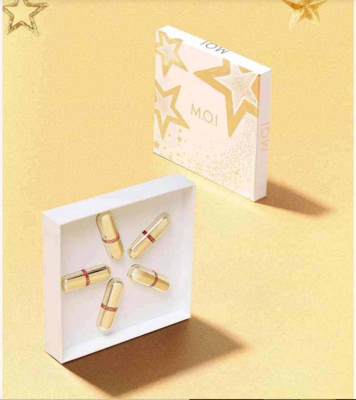 Bộ Son Thỏi M.O.I Mini Golden Gift - Set Beautiful 5 Màu