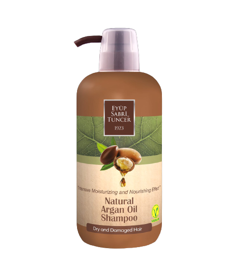 SHAMPOO WITH NATURAL ARGAN OIL