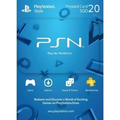 Thẻ PSN Gift Card 20SGD - Singapore