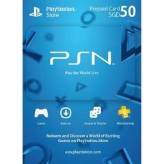 Thẻ PSN Gift Card 50SGD - Singapore