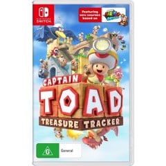 NSW 2nd - Captain Toad: Treasure Tracker - Nintendo Switch