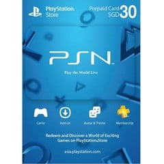 Thẻ PSN Gift Card 30SGD - Singapore