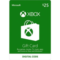 Thẻ Xbox Gift Card 25$ - US