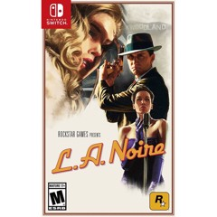 NSW 2nd - L.A Noire Remastered - Nintendo Switch