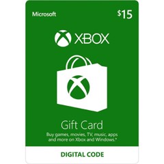 Thẻ Xbox Gift Card 15$ - US