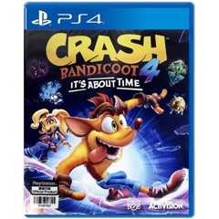 PS4 2nd - Crash Bandicoot 4: It's About Time - Asia