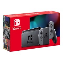 Máy Nintendo Switch V2 NEW Model 2019 - Màu Gray