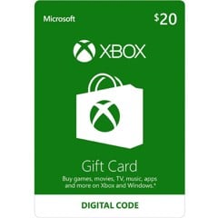 Thẻ Xbox Gift Card 20$ - US