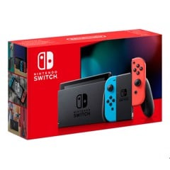 Máy Nintendo Switch V2 NEW Model 2019 - Màu Neon