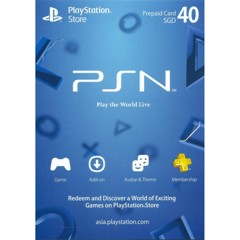 Thẻ PSN Gift Card 40SGD - Singapore