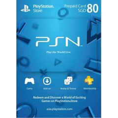 Thẻ PSN Gift Card 80SGD - Singapore