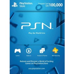 Thẻ PSN Gift Card 100,000Rp - indonesia