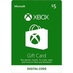 Thẻ Xbox Gift Card 5$ - US
