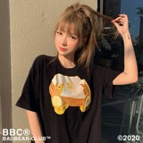 BBC CHEESE TEDDY BLACK TEE