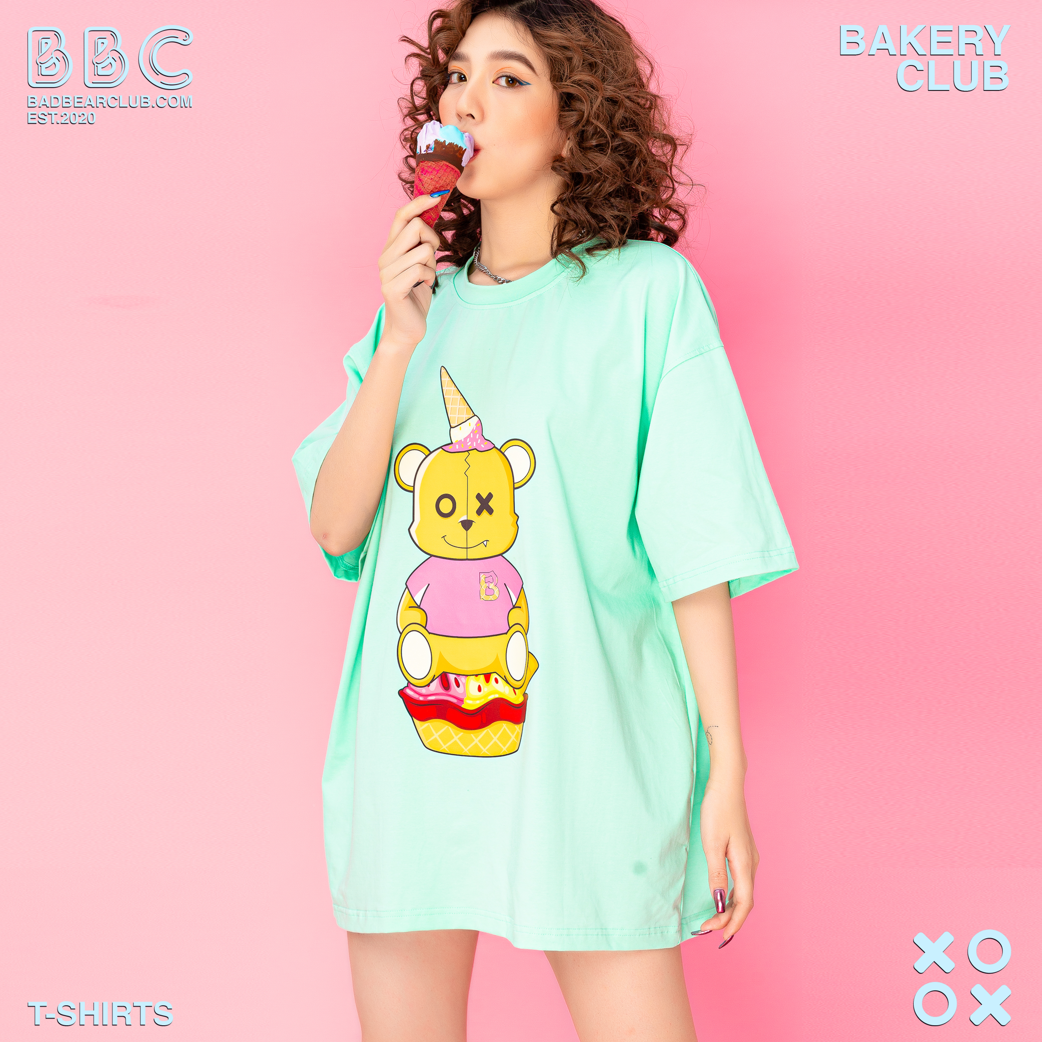 BBC ICE CREAM BEAR TEE