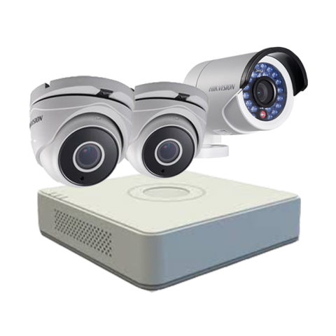 BỘ 03 CAMERA HD HIKVISION 2MP 1080P