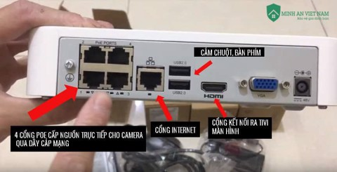 BỘ 4 mắt DOME UNV 2Mp