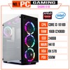 PC GAMING SHARK 018 (I3 10100/H410/16GB RAM/240GB SSD/RX 570/550W/RGB)