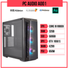 PC Audio A001 (i9-9900X/X299/32GB RAM/500GB SSD/GTX1650S/650W)