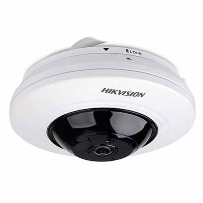 Camera Fish Eye HDTVI 5MP Hikvision DS-2CC52H1T-FITS