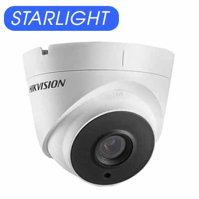 Camera Dome HDTVI 2MP Starlight Hikvision DS-2CE56D8T-IT3Z
