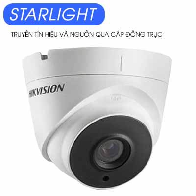 Camera Dome HDTVI 2MP Starlight Hikvision DS-2CE56D8T-IT3E