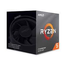 CPU AMD Ryzen 5 3600XT, with Wraith Spire cooler/ 3.8 GHz (4.5GHz Max Boost) / 36MB Cache / 6 cores / 12 threads / 95W / Socket AM4
