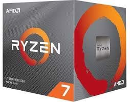 CPU AMD Ryzen 7 3800XT, with Wraith Prism cooler/ 3.9 GHz (4.7GHz Max Boost) / 36MB Cache / 8 cores / 16 threads / 105W / Socket AM4