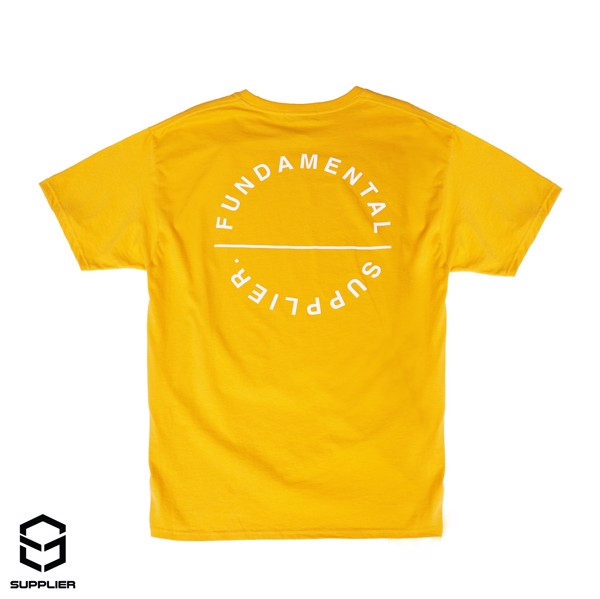 Tee SUPPLIER Basic Yellow