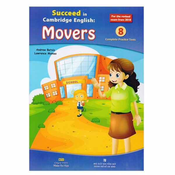 Succeed In Cambridge English - Movers 8 (Trọn bộ 2 quyển)