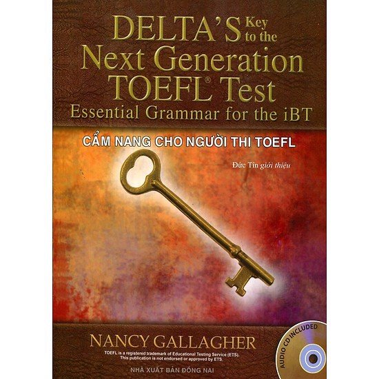 Delta's Key To The Next Generation Toefl Test Essential Grammar For The iBT