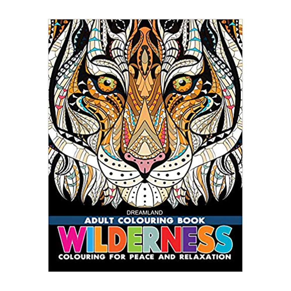Adult Colouring Book - Wilderness - DreamLand
