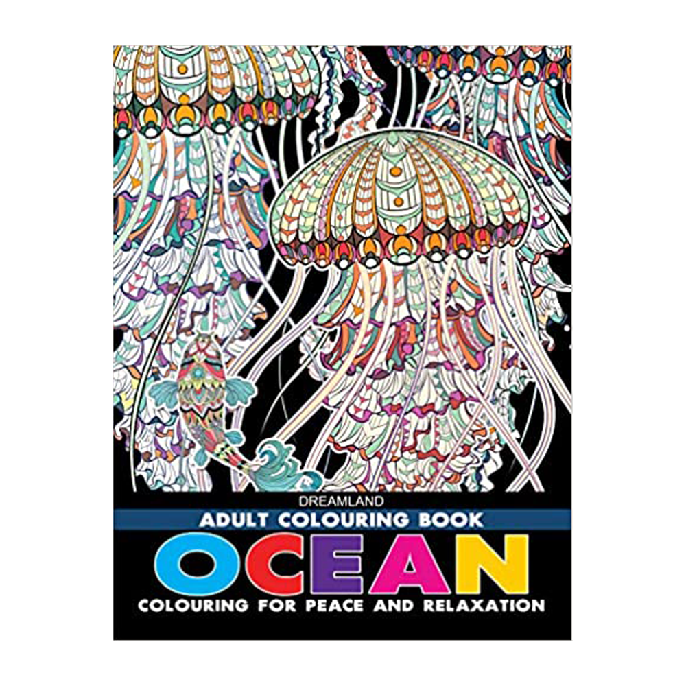 Adult Colouring Book - Ocean - DreamLand